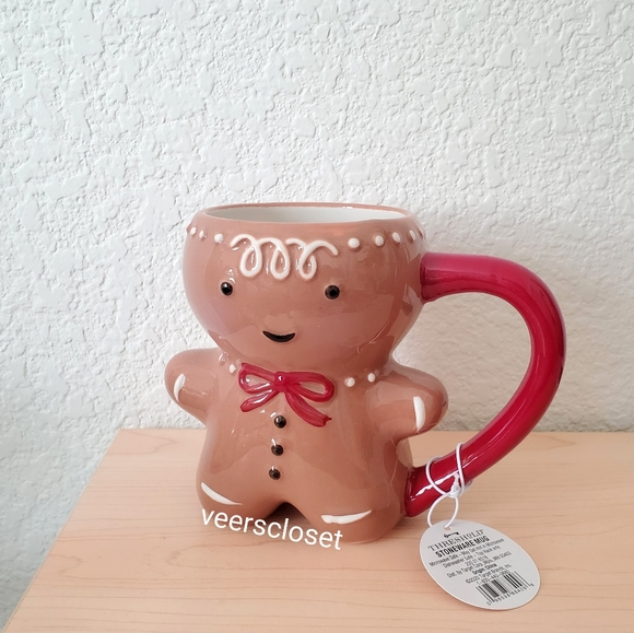 Threshold Gingerbread Man Stoneware Mug